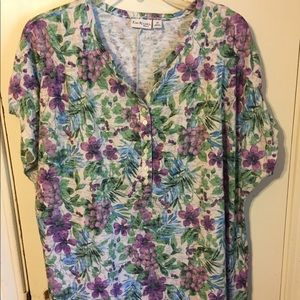 Top by Kim Rogers size 1X